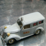 Brumm 1:43 vintage C.R.I  medical ambulance loose unboxed diecast model @sold@
